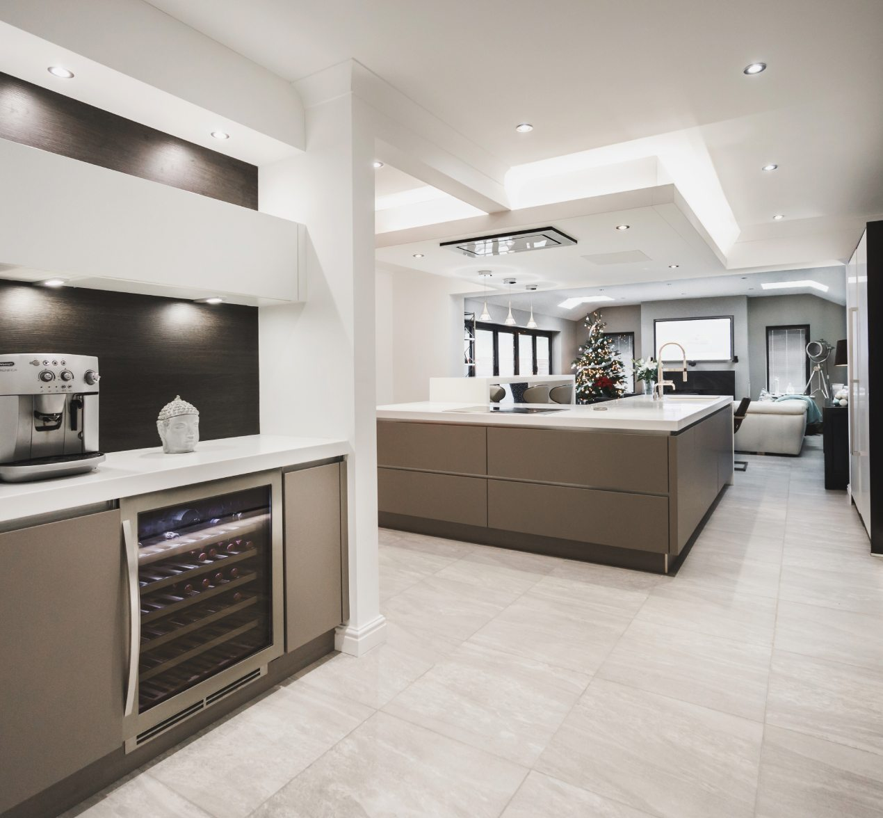 Designer Kitchen Case Study In Colne  Kitchen Design Centre