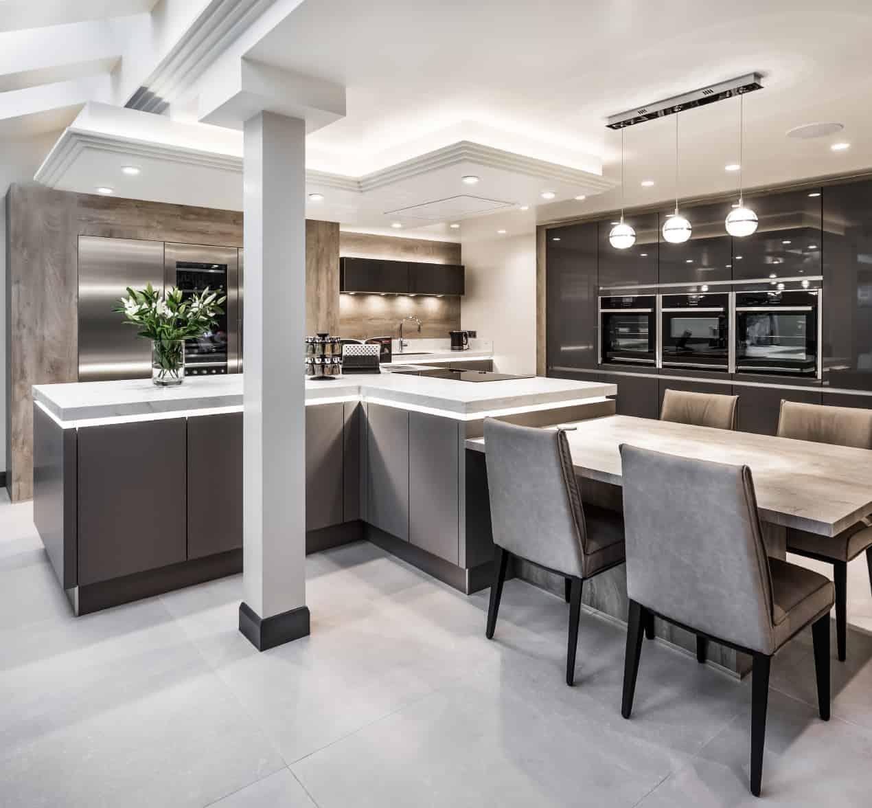 Contemporary Designer Kitchens  Modern  Kitchen Design