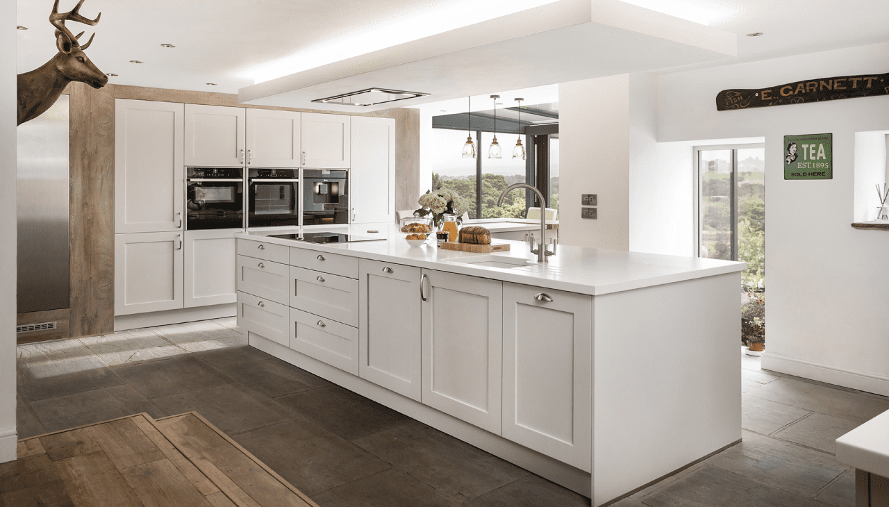 A light and airy space for a barn kitchen