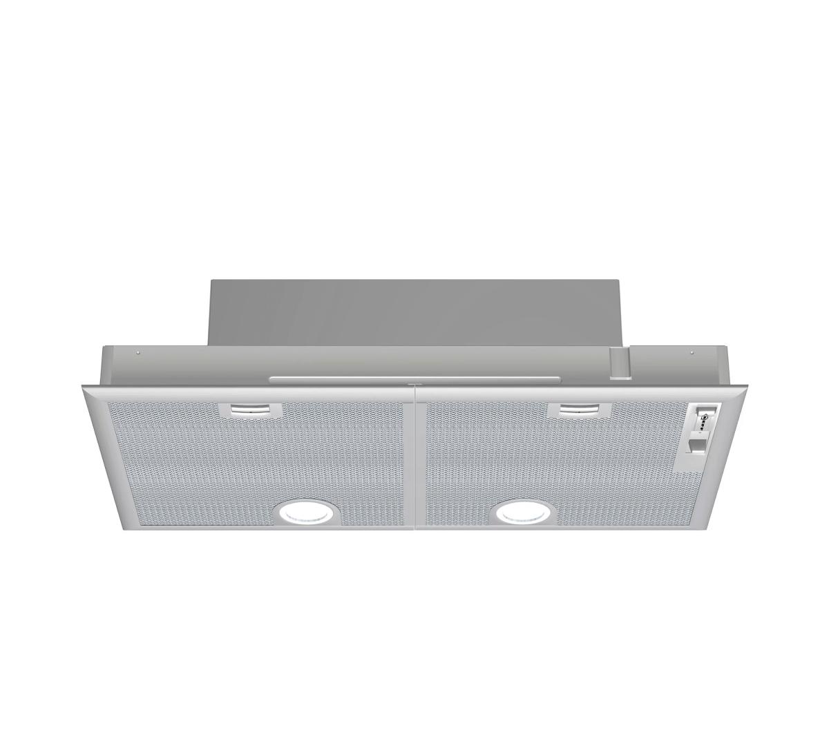 N30 73cm Canopy Hood Metalic Silver