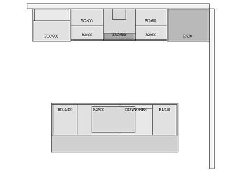 House Plans Galley Kitchen