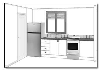 small kitchen plans country decor these example will guide you in planning your straight layout view