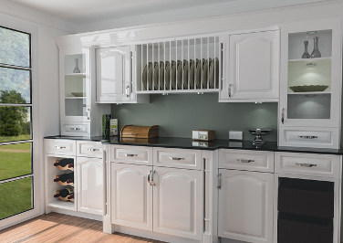 Canterbury High Gloss White Kitchen Doors Made To Measure From 299