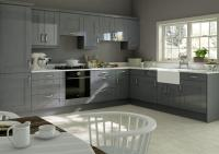 Arlington High Gloss Anthracite Kitchen Doors | Made to ...