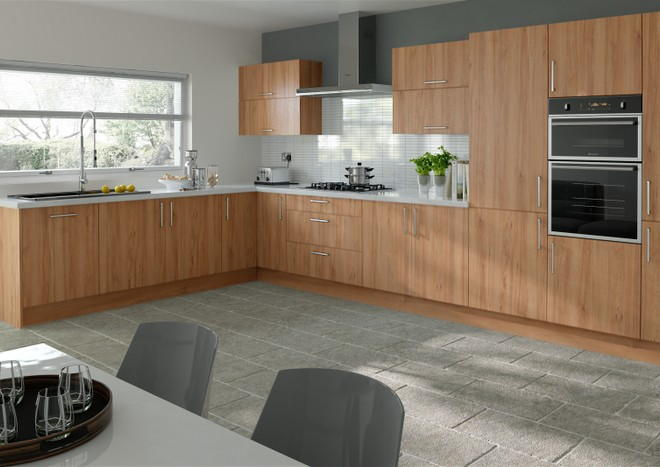 Lewes Tiepolo Light Walnut Kitchen Doors From 429 Made