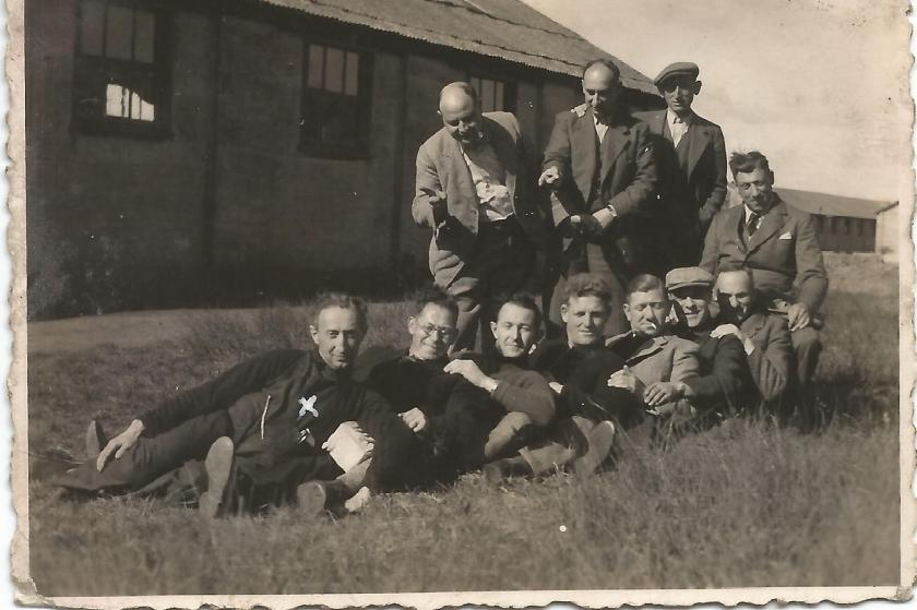 Georg Benjamin, Kitchener Camp