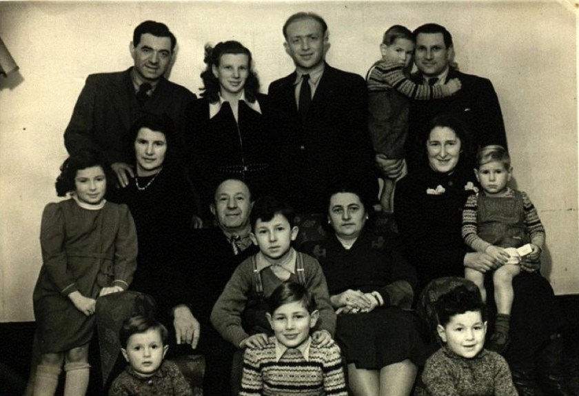 Walter Brill and family - emigrating to USA, 1949