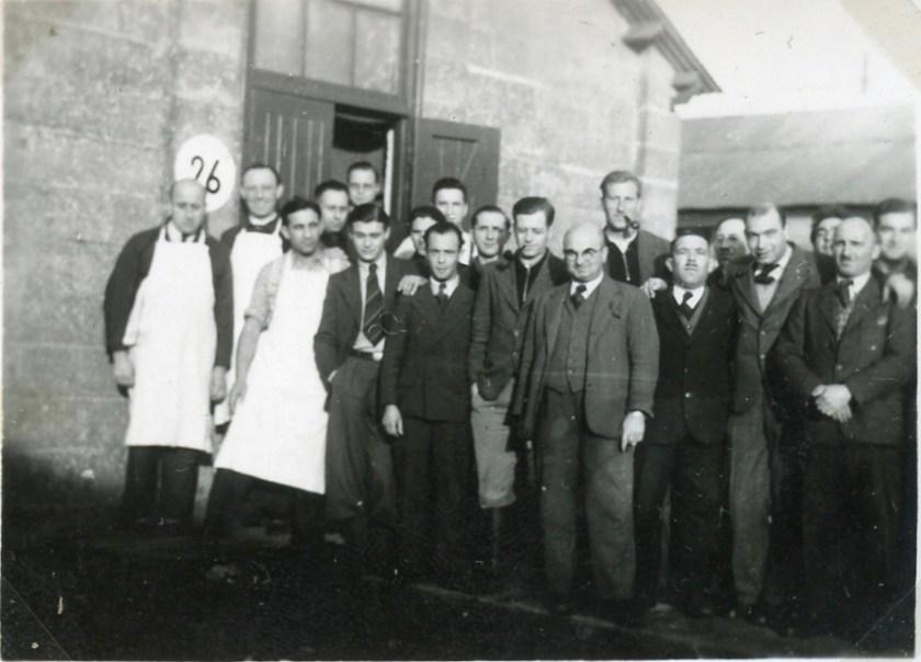 Kitchener camp, Moshe Chaim Gruenbaum, 1939
