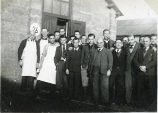 Kitchener camp, Moshe Chaim Grunbaum, 1939