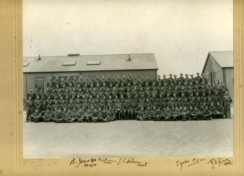 Kitchener camp, Vulkan family, Auxiliary Military Pioneer Corps