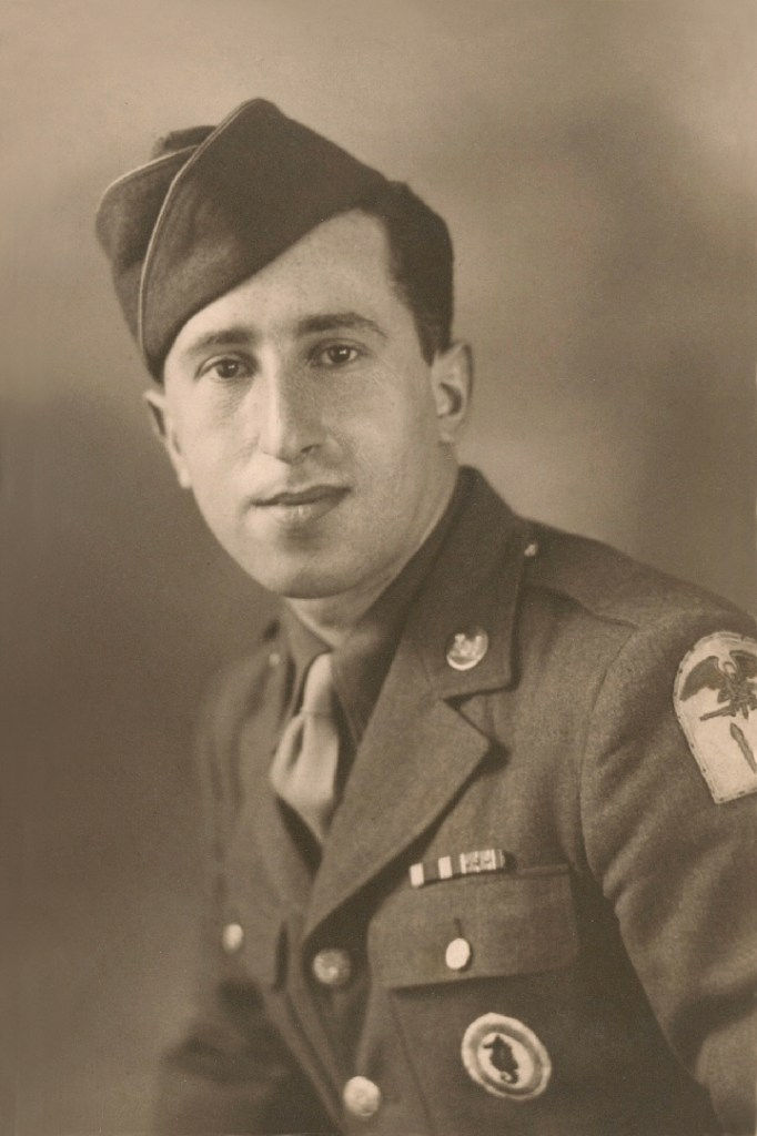 Kitchener camp, Erich Silbermann, US army