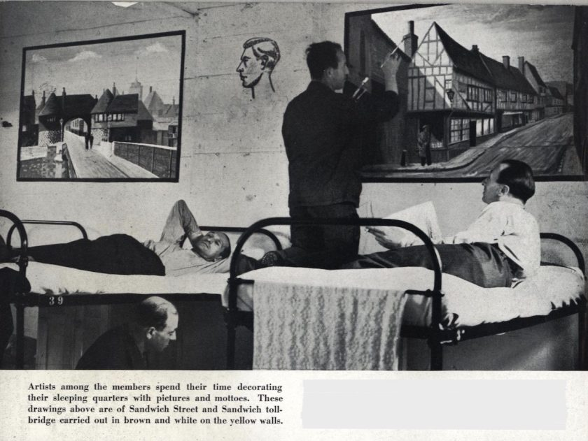 Kitchener camp, Some Victims, 1939 - Art