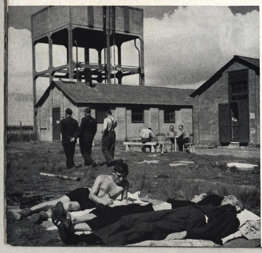 Richborough transit camp, Some Victims of the Nazi terror, 1939 - the water tower