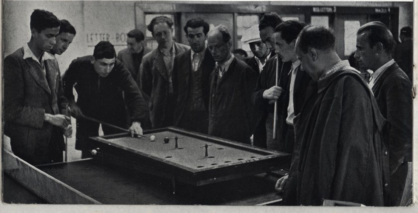 Kitchener camp, Some Victims, 1939 - billiards