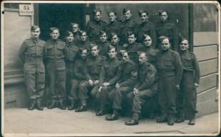Richborough camp 1939, Erich Peritz, Pioneer Corps