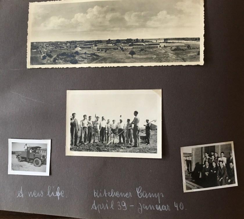 Richborough camp 1939, Victor Cohn, Photo album, April 1939 to January 1940