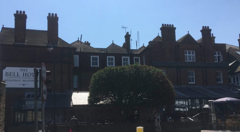 Kitchener camp, Phineas May diary, the Bell Hotel
