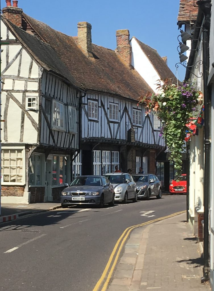 Richborough camp, Sandwich historic town centre, 2018
