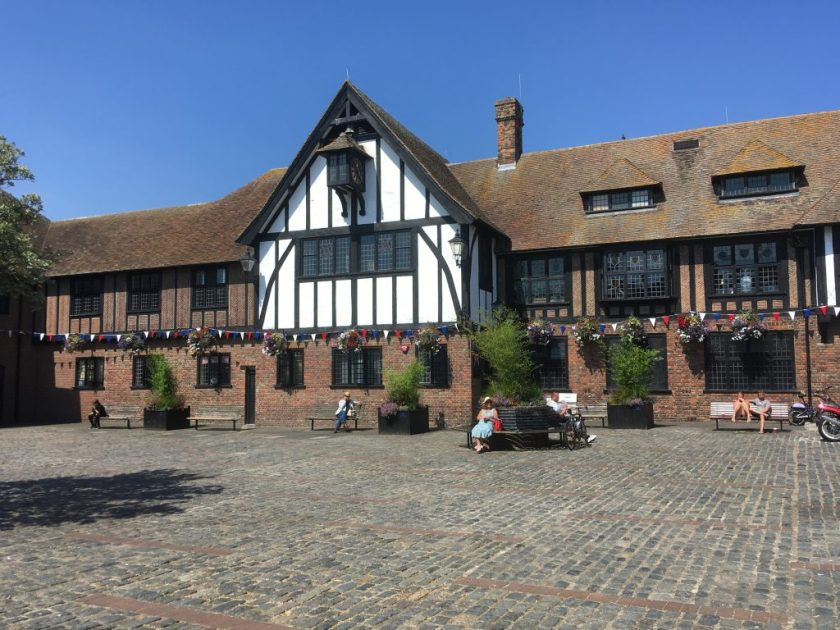 Kitchener camp, Sandwich Guildhall - now museum and town hall; site of the Chamber of Commerce, Phineas May diary