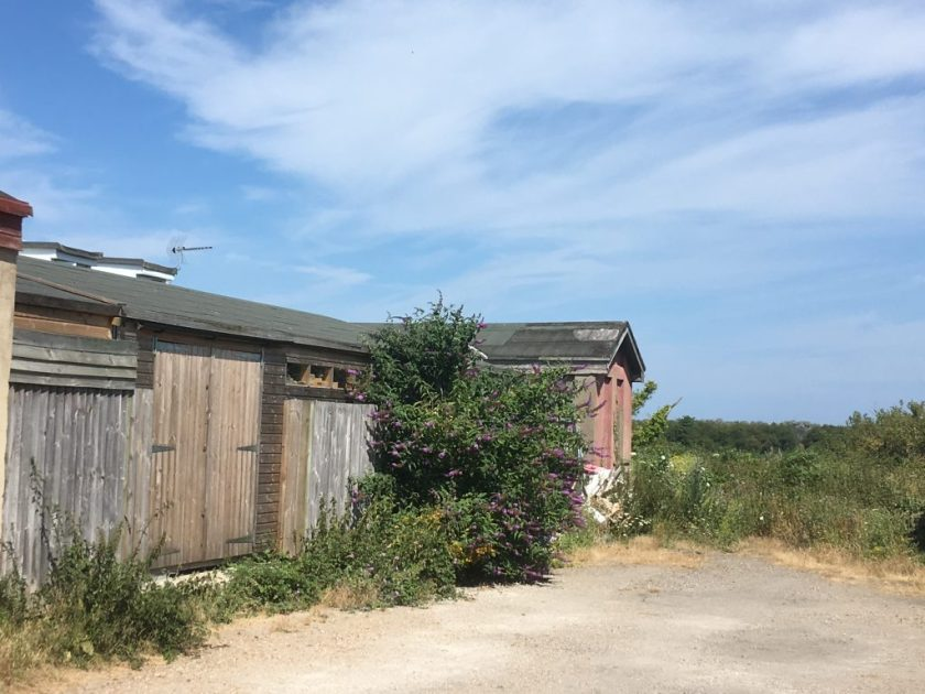 Random huts on the site of the old Kitchener camp