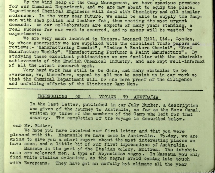 KC Review, no. 7, September 1939, page 4, base