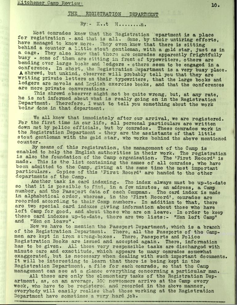 KC Review, no. 7, September 1939, page 10, top