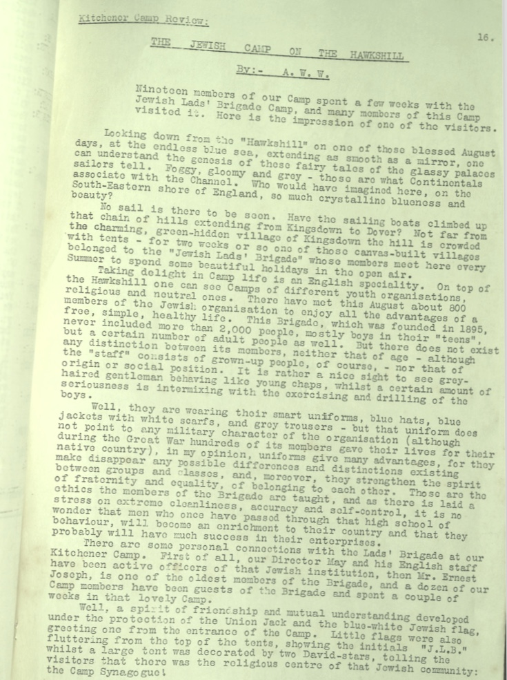 KC Review, no. 7, September 1939, page 16, top