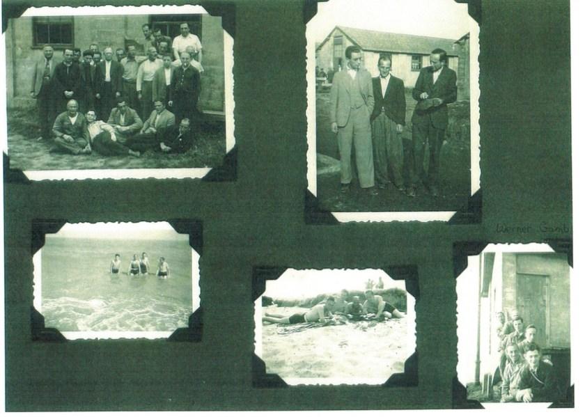 Richborough transit camp, family album, Herbert Mosheim