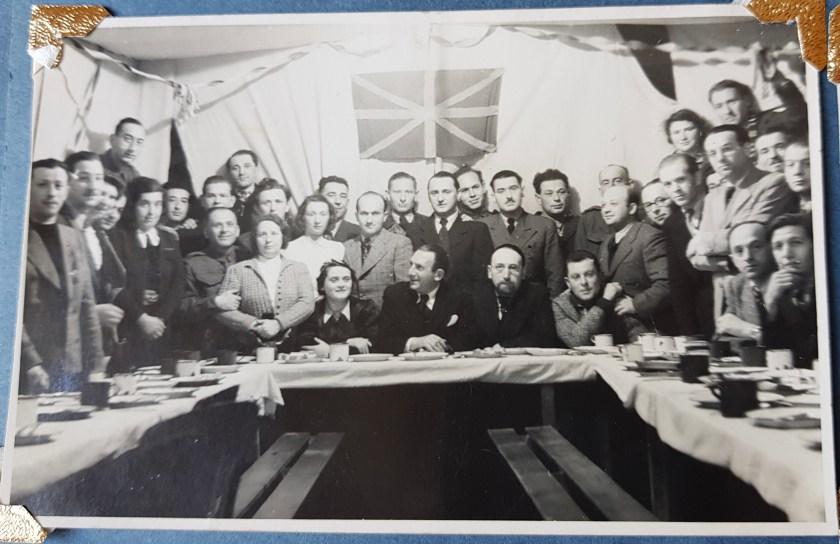 Richborough transit camp, Hermann Wetterhahn, 1939