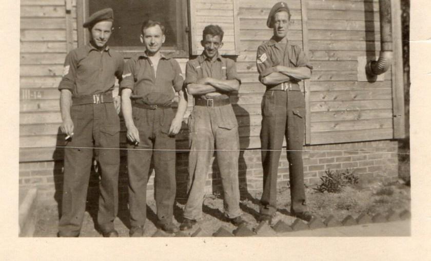 Will Reissner, British Army, Hesedorf bei Bremervörde, 15 August 1945