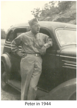 Kitchener Camp, Peter Weiss, US military, 1944