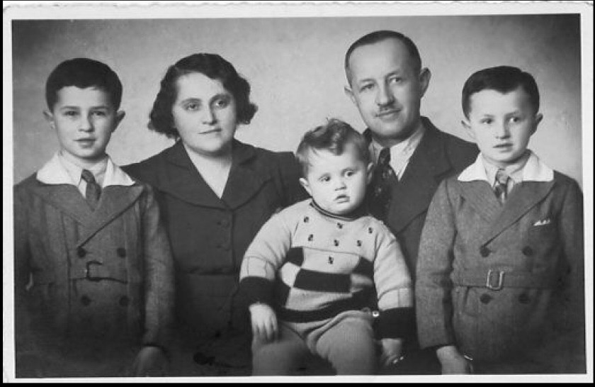 Ignatz Salamon and family, Vienna