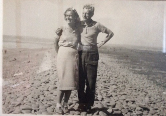 Werner Horst Philippsen - with his wife