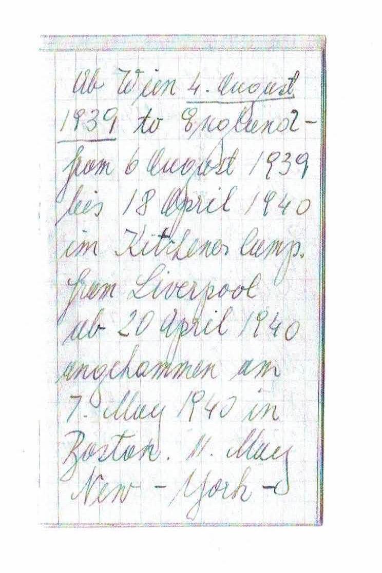 Kitchener camp, Oskar Reininger, Notes