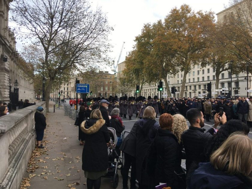 Cenotaph, Whitehall, London, AJEX Ceremony, 17 November 2019