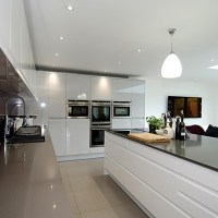 Remo Dove Grey & White, Digswell, Hertfordshire - Kitchen ...