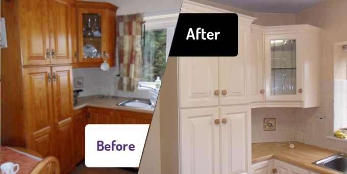 The Kitchen Facelift Company A New Look For Less