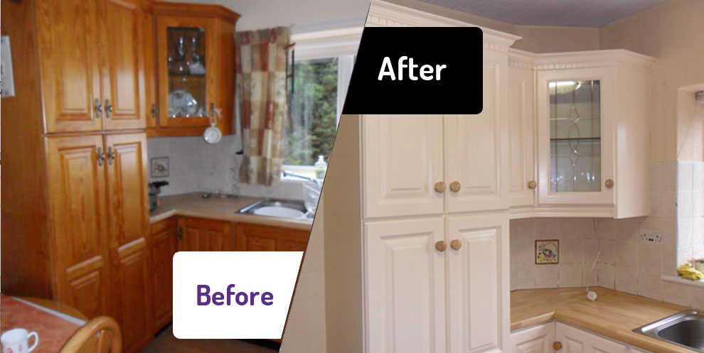 repainting kitchen cabinets small stoves the facelift company a new picture