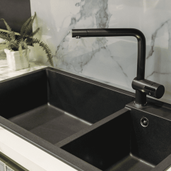 Kitchen Sink Faucet Cabinets Cost Top 7 Black Faucets