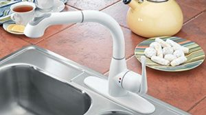 white kitchen faucet small space faucets