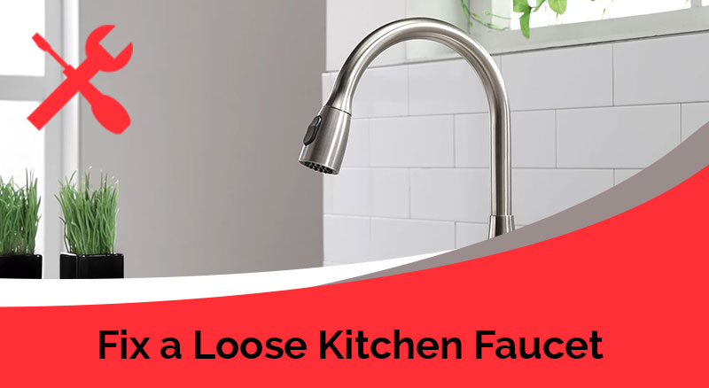 how to fix a loose bathroom faucet