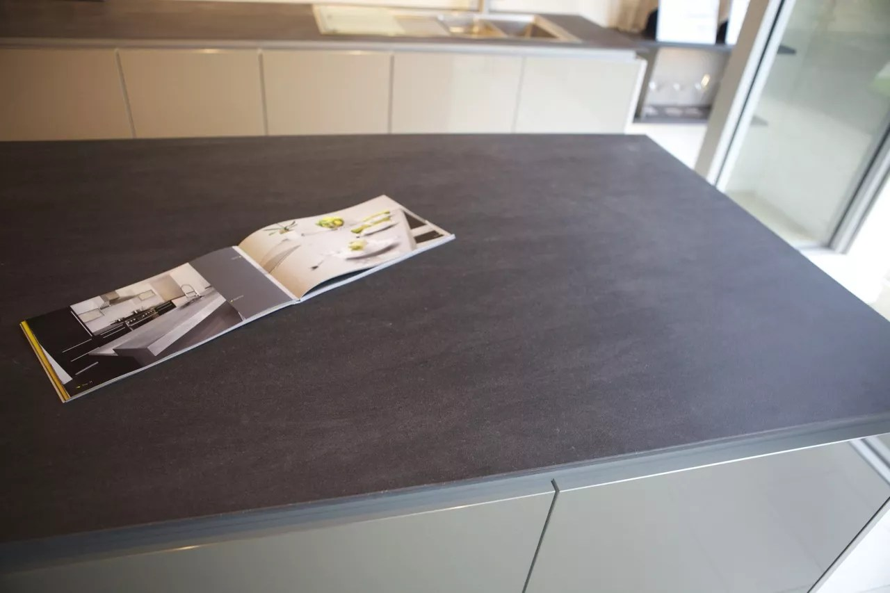 ceramic kitchen top types of faucets worktops a viable alternative to granite and quartz neolith basalt grey