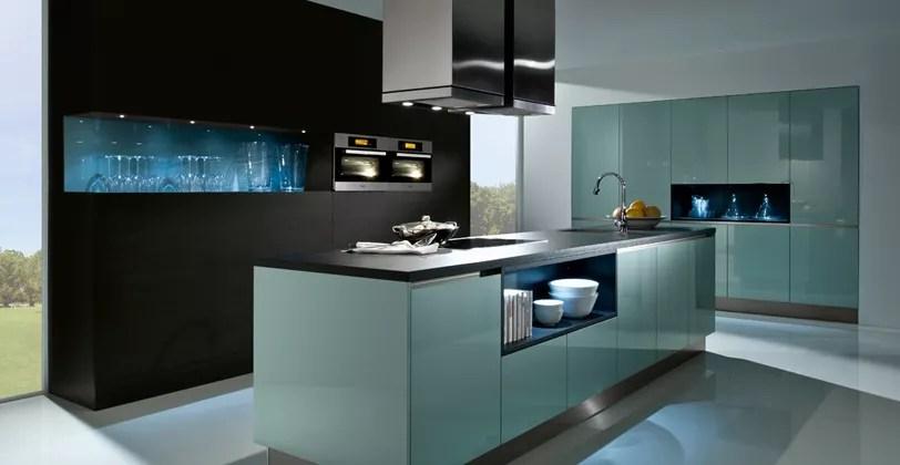 Designer Kitchen Blue