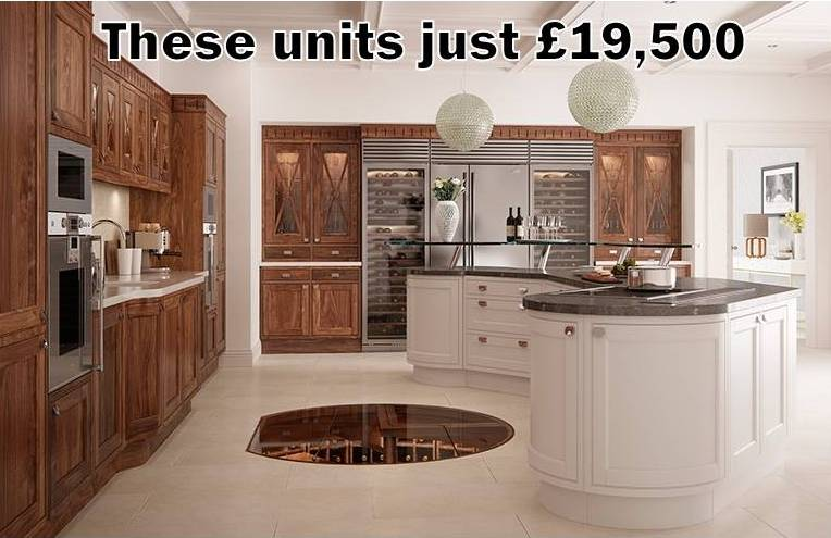 kitchen prices l shaped outdoor luxury bespoke hand made kitchens for a fraction of the price 2