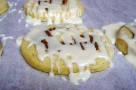 eggnog shortbread cookies