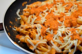 rustic chicken pasta bake