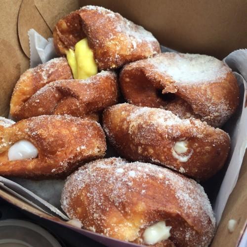 malasada puffs from Leonard's Bakery in Oahu, Hawaii