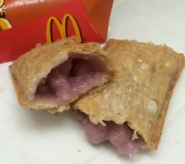 taro pie from McDonalds at Oahu, Hawaii