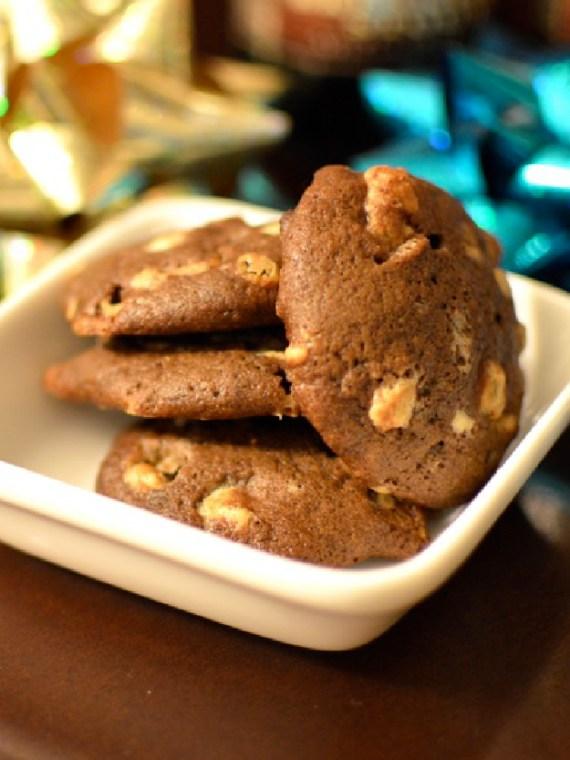 chocolate stout cookies via kitchen frolic