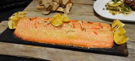 Weber Grill Academy Cedar-Planked Salmon
